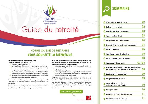 Le Guide Du Retraite Cnracl