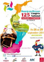 Congrès national des sapeurs-pompiers à Bourg-en-Bresse du 26 au 29 septembre 2018