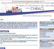 Lettre d'information des retraités de la CNRACL avril 2017