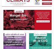 Climats, la lettre des retraités février 2018