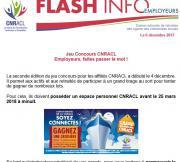 Flash Info : Jeu Concours CNRACL - Employeurs, faites passer le mot !