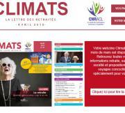Climats, la lettre des retraités avril 2018