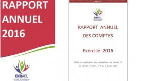 Rapport annuel des comptes et Recueil statistiques 2016