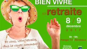 """Participez au salon """"Préparer et bien vivre sa retraite"""" de Bordeaux"""